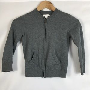 Burberry Gray Jacket Size 6Y